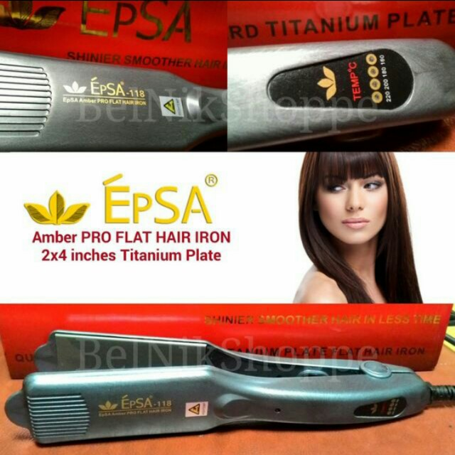 Epsa 118 Hair Iron