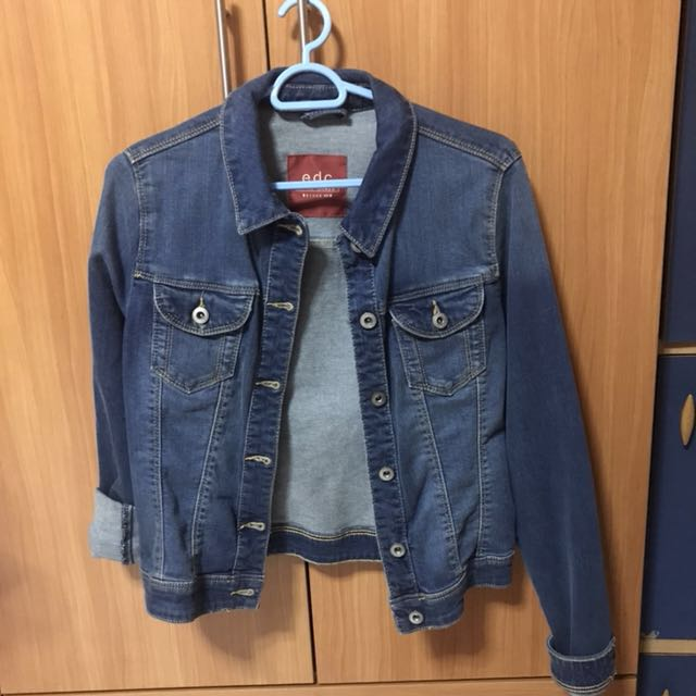 On Carousell Outerwear Esprit Fashion Jacket Clothes Denim Women's xYwwHgF07q