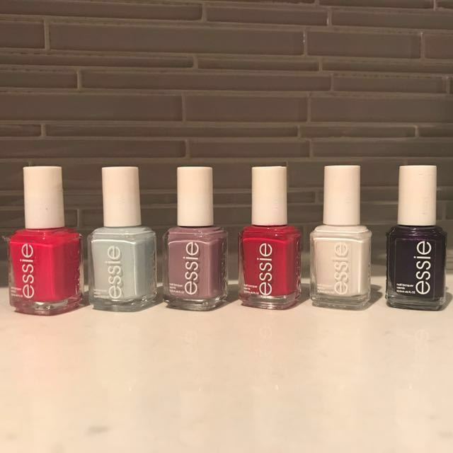 Essie Nail Polish Lot (6 Colours)