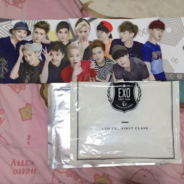 EXO毛巾