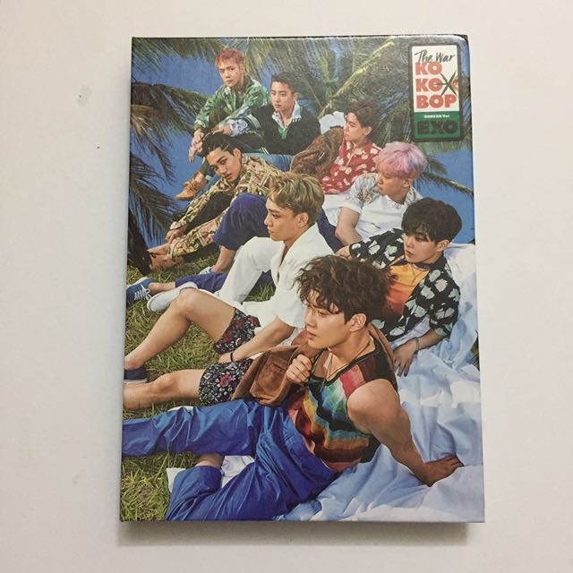 EXO KoKoBop Album A Version
