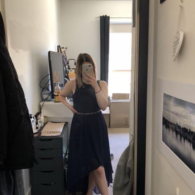 Forever New Navy Formal Dress