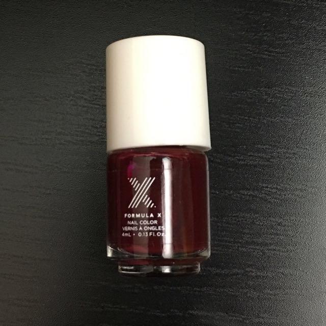 Formula X mini nail polish