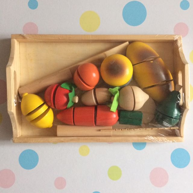 Fruit Tray Wooden Toy