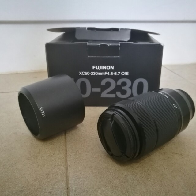 Fujinon 50-230mm lens Fujifilm x-series