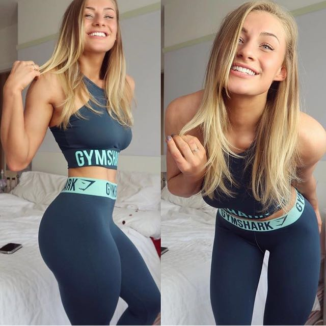 4303d838d0029 Gymshark Fit Legging, Sports, Sports Apparel on Carousell