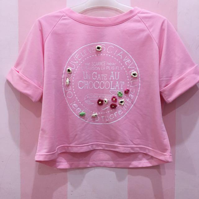 Hana top in pink
