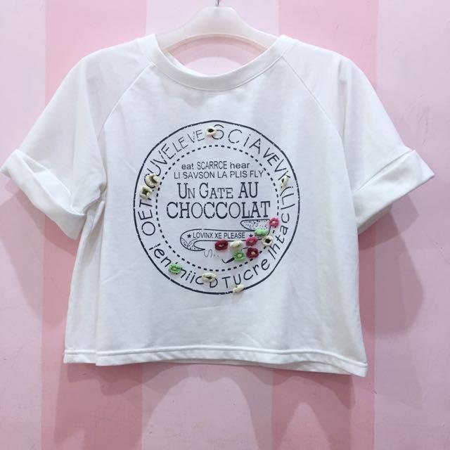 Hana Top in white