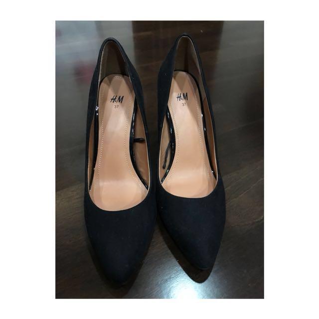 【H&M】黑色高跟鞋👠