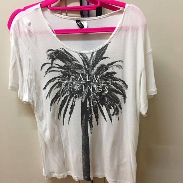 H&M Palm Spring shirt