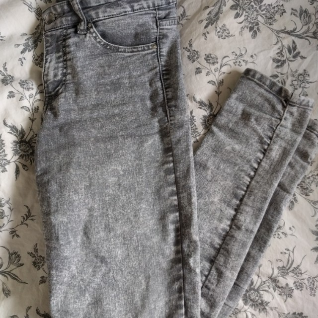 H&M Stone Wash Denim