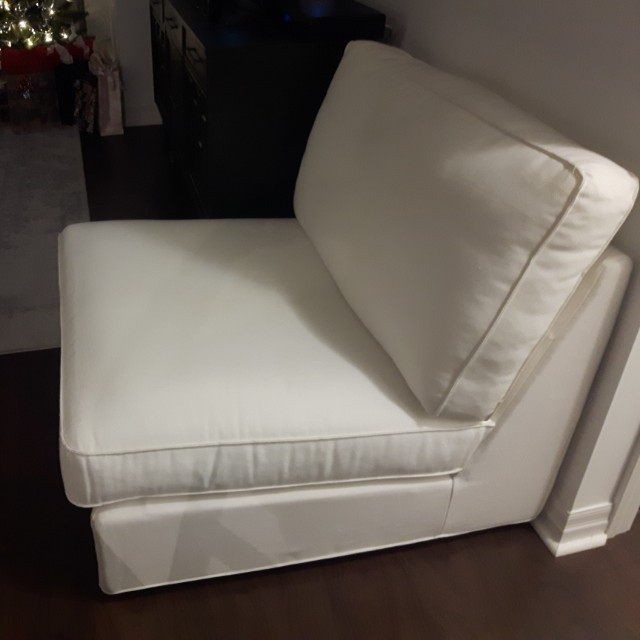 Ikea chair -cream colour