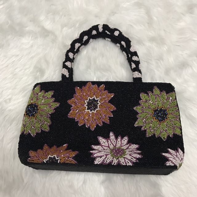 IMPORTED Beaded Bag