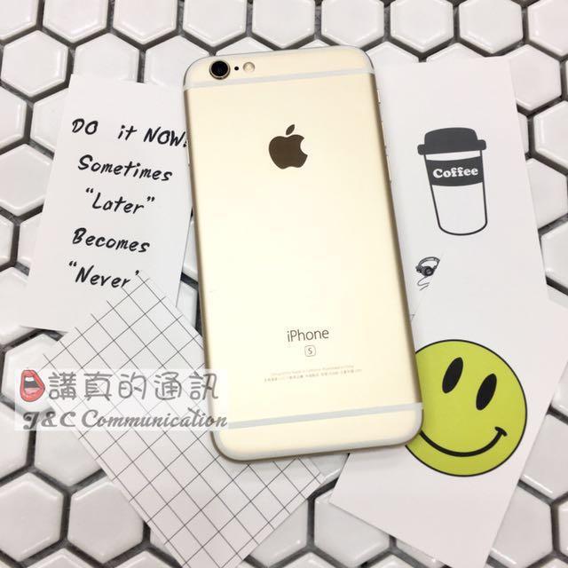 iPhone6s 64G 金❤️