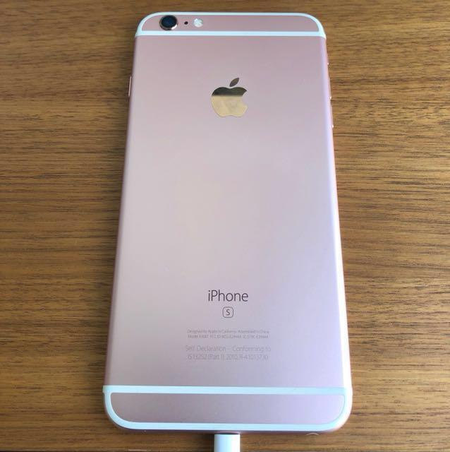 5ccf8c38f57 iPhone 6s Plus 128GB Rose Gold in good condition