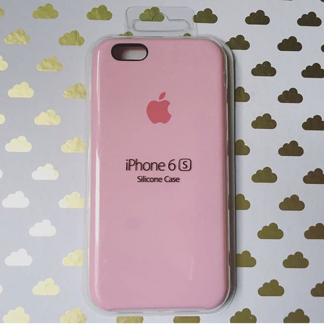 sports shoes 8e3ba 6dfde iPhone 6s Silicone Case: LIGHT PINK on Carousell