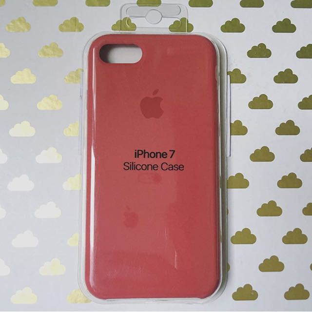 best authentic 8a8db 45598 iPhone 7/8 Silicone Case: ROSE RED on Carousell