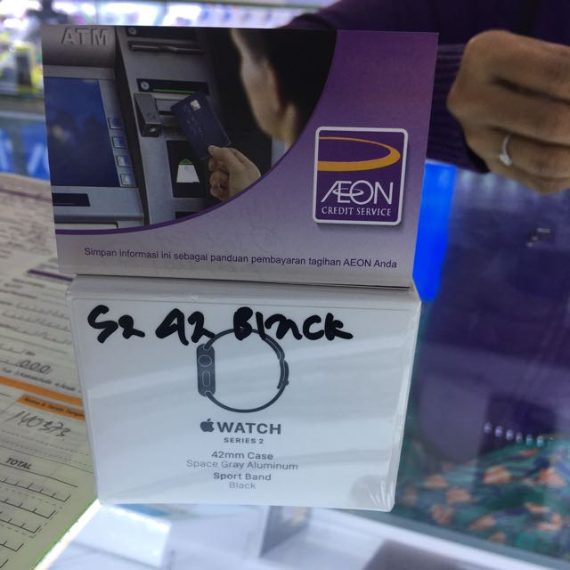 Iwatch seri 2 42mm kredit aeon/ awan Tunai/kredit plus