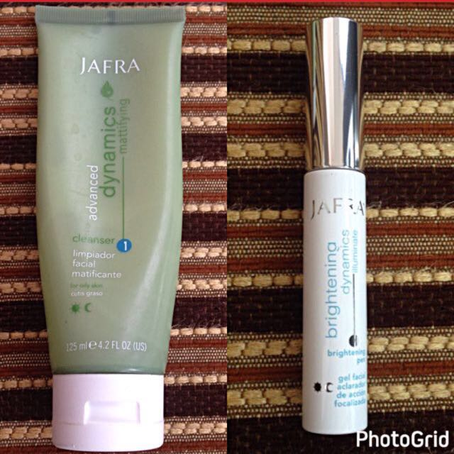 JAFRA CLEANSER + BRIGHTENING PEN (TAKE THEM ALL ONLY Rp.100.00)