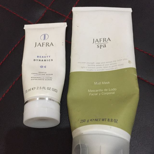 JAFRA MUD MASK + GENTLE SCRUB (TAKE THEM ALL ONLY Rp.180.000) GRAB FAST!