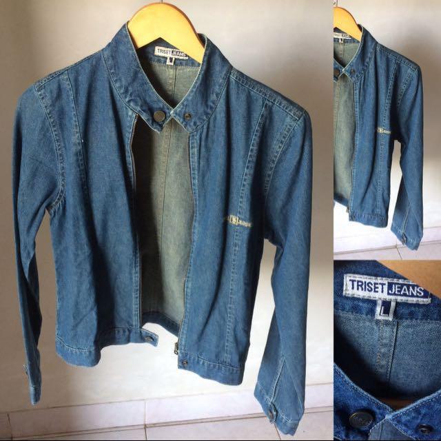 Jaket jeans Triset Ori