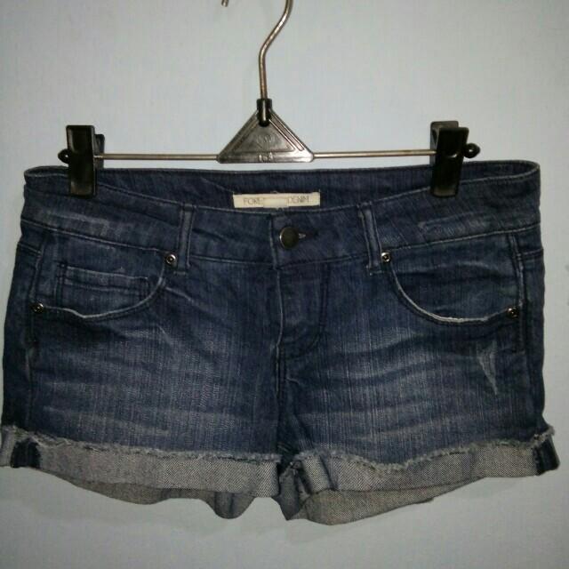 Jeans pendek forever 21
