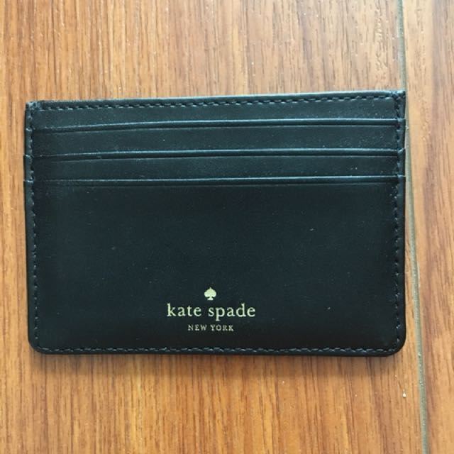 Kate Spate Card Holder