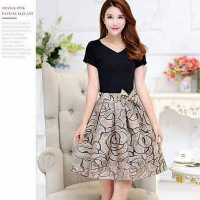 Korean Dress Womens Fashion Clothes Dresses Skirts On Carousell