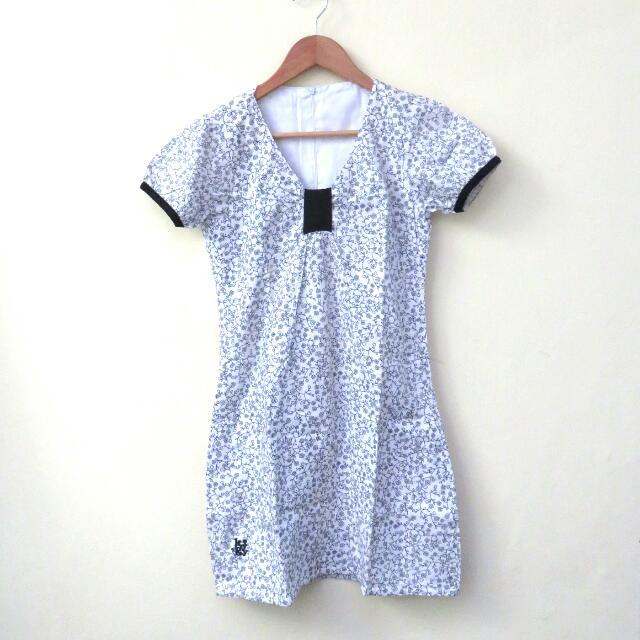 Kuyagaya Monochrome Dress