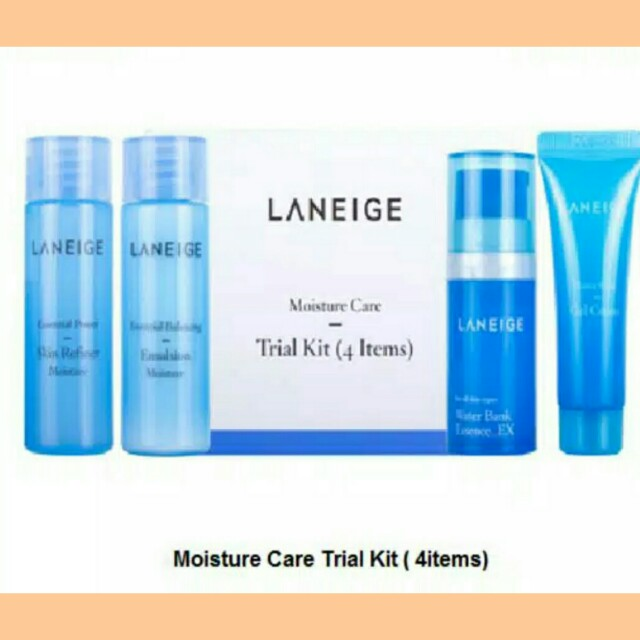 Laneige moisturizer care + laneige water bank eye gel 3 ml