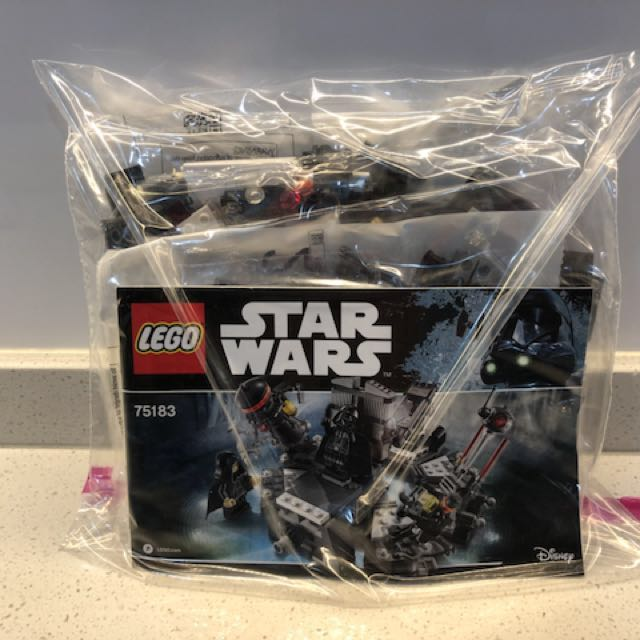 lego darth vader transformation set