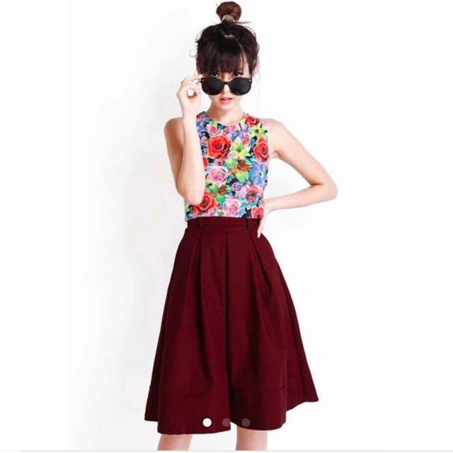 Leighton Midi Skirt