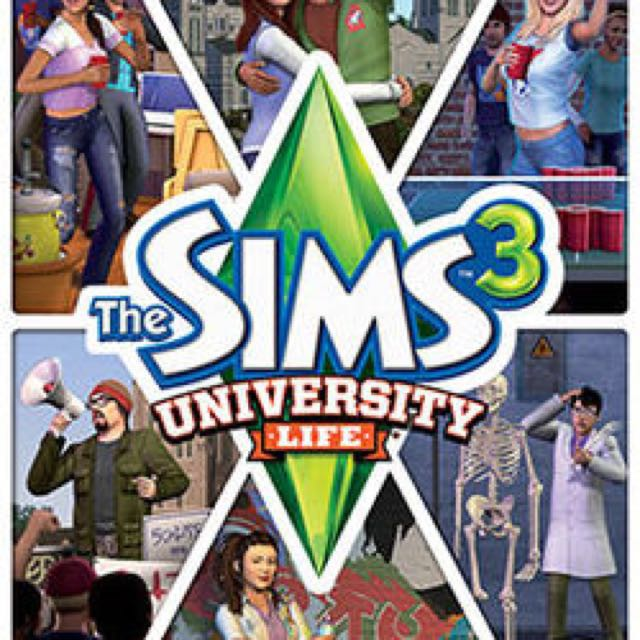 LOOKING FOR: SIMS 3 UNIVERSITY LIFE