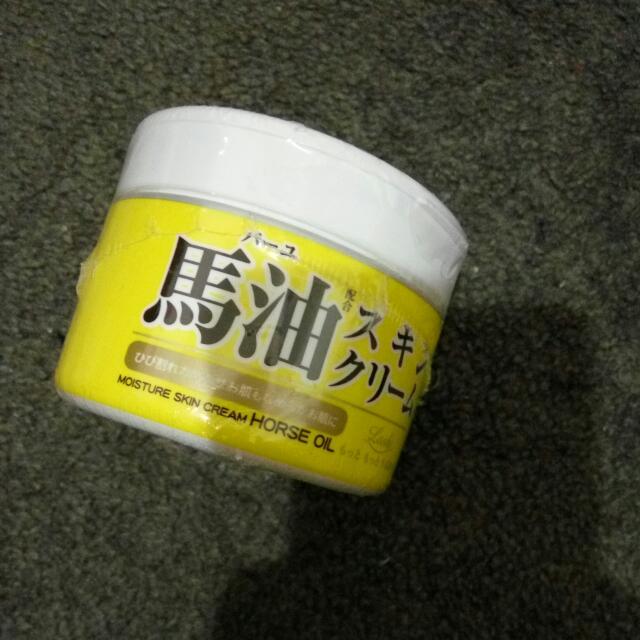 Loshi Moisture Skin Cream Horse Oil