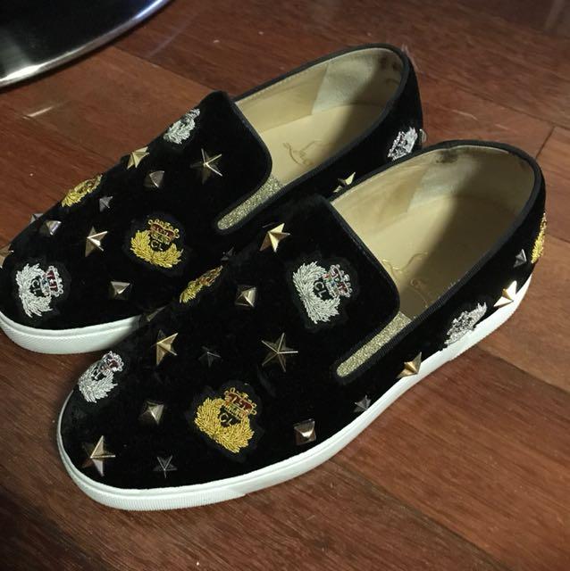 Louboutin sneakers size 36