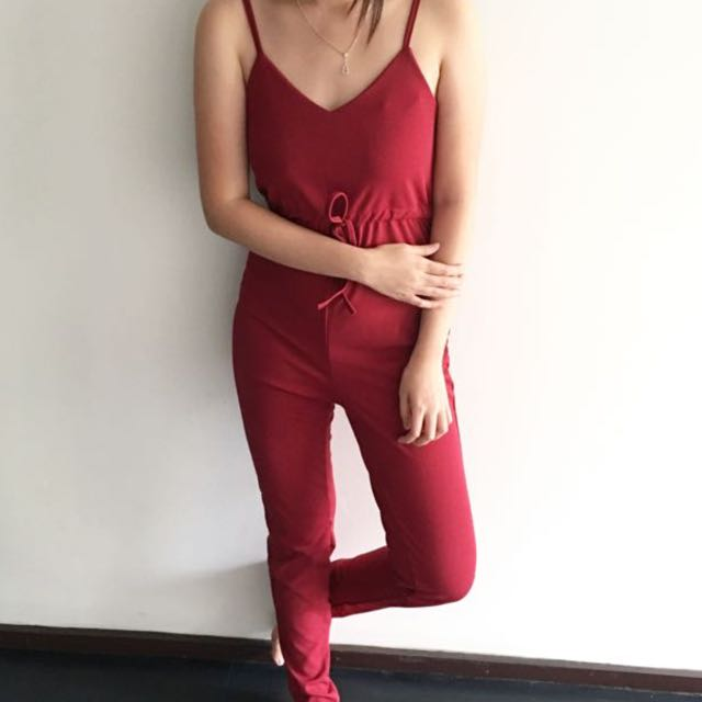 Maxi Plain Jumpsuit