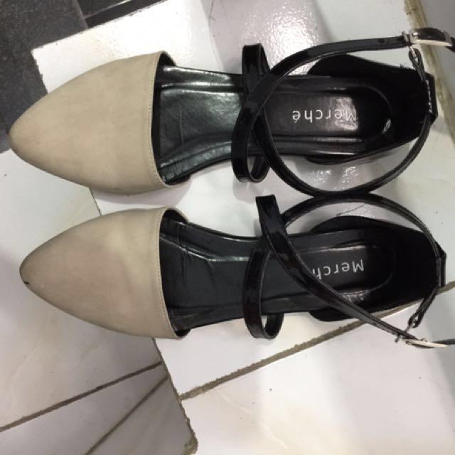 Merche Flatshoes Rachel Grey