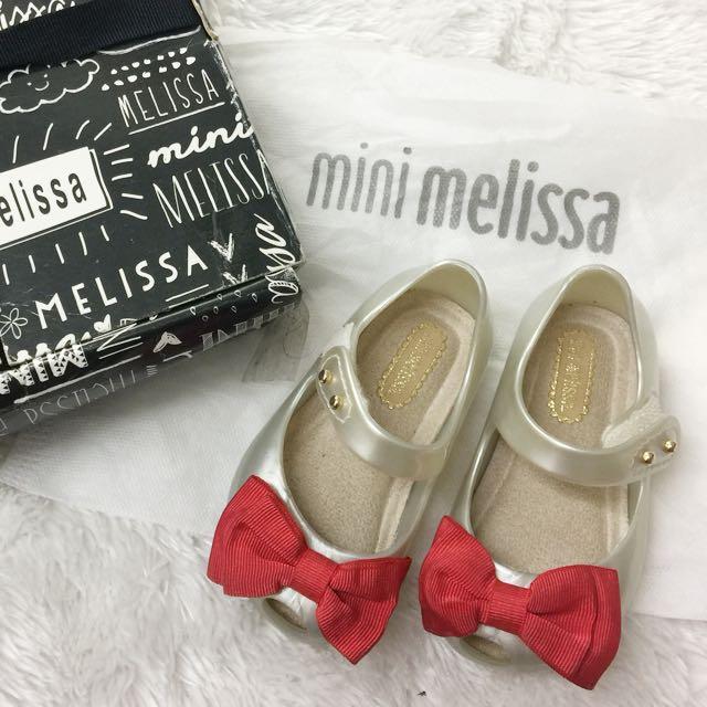 Mini melissa sweet bow red