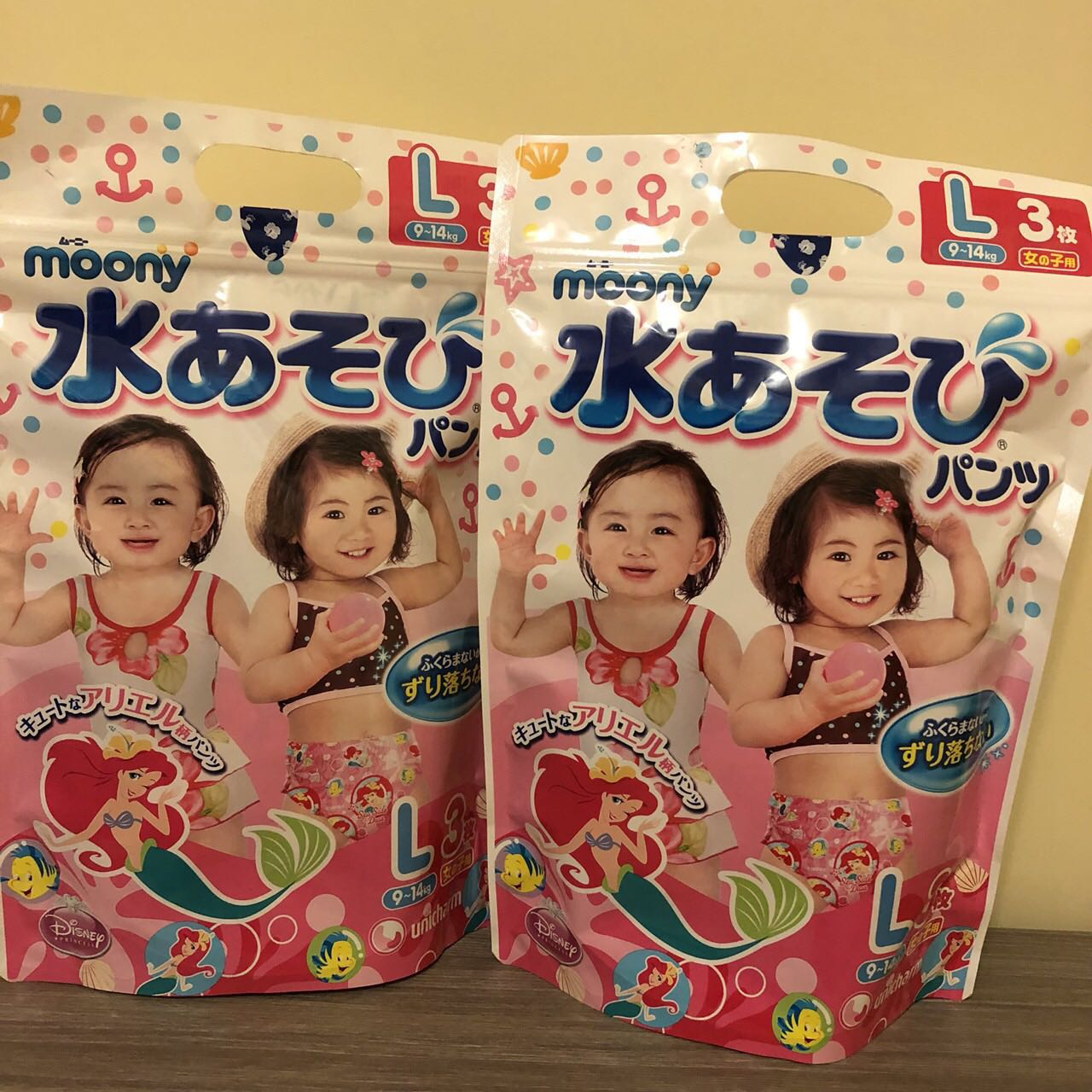 Moony 玩水褲/戲水褲  (L) 日本製