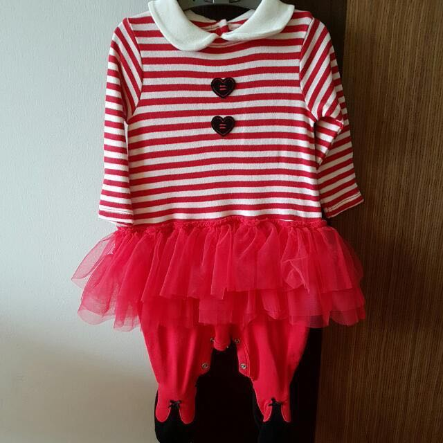 6ce3d8e95 Mothercare Christmas Elf Costume (3 To 6 Months), Babies & Kids ...
