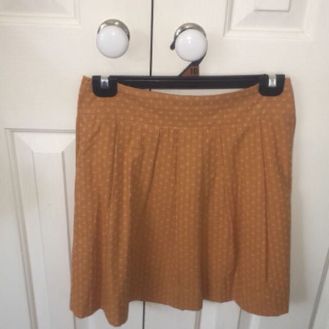 Mustard high waisted Skirt