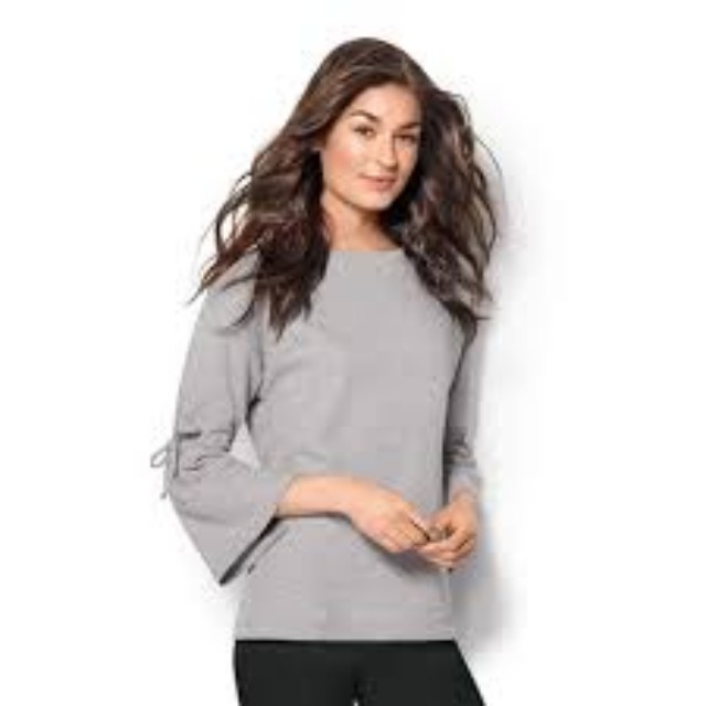 new! Avon lightweight bell sleeve sweatshirt