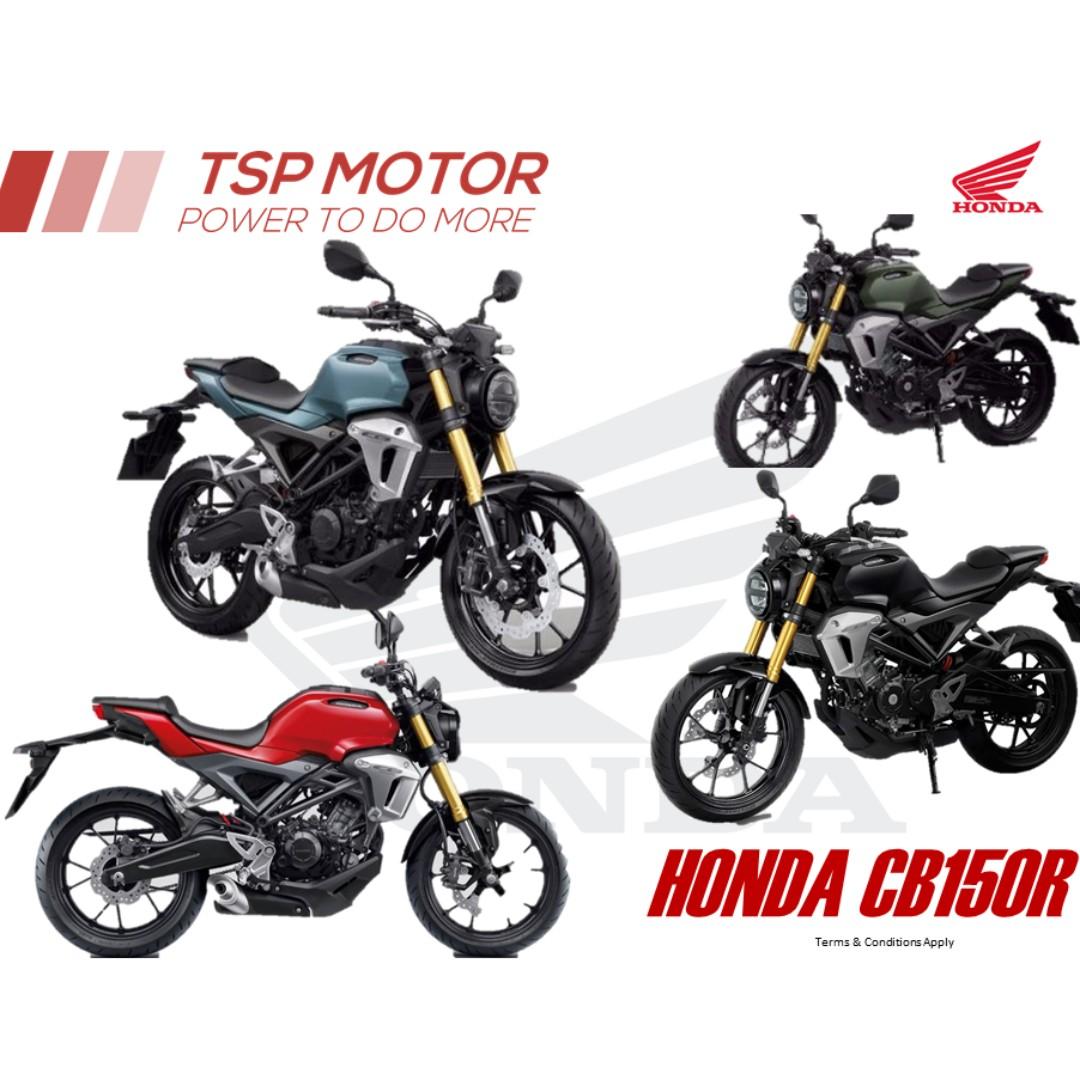 Foto Motor Cb150r All New Cb 150r Streetfire Raptor Black Jakarta Honda Colours Red Matte Green Blue