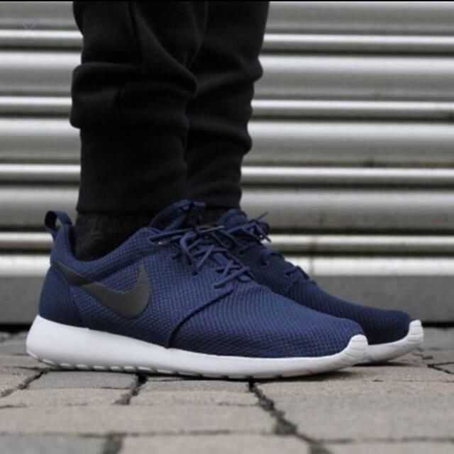 Nike Roshe Run 海軍藍 Us10.5 28.5cm