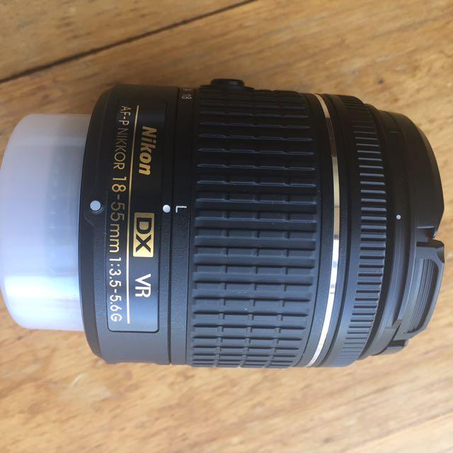 Nikon AF-P 18-55mm lens