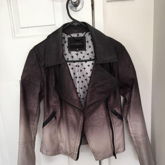 Ombré Dannii Minogue Pleather Jacket