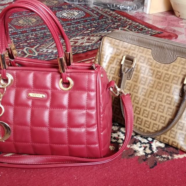 5d14b374e2b4c5 Original Fendi n Scha handbag to letgo, Women's Fashion, Bags ...
