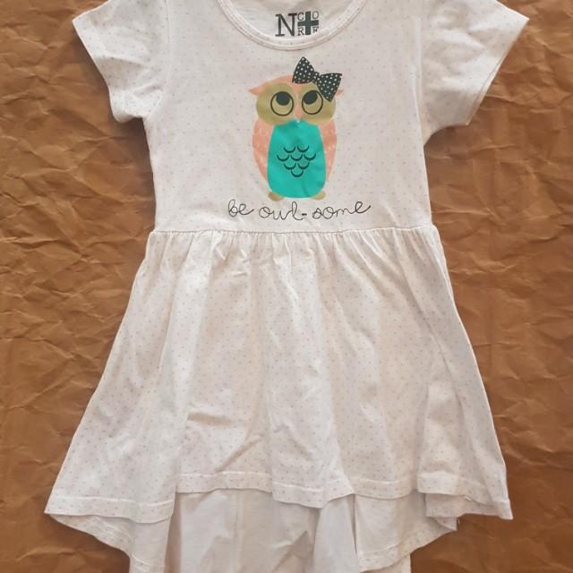 Owl dress sz S
