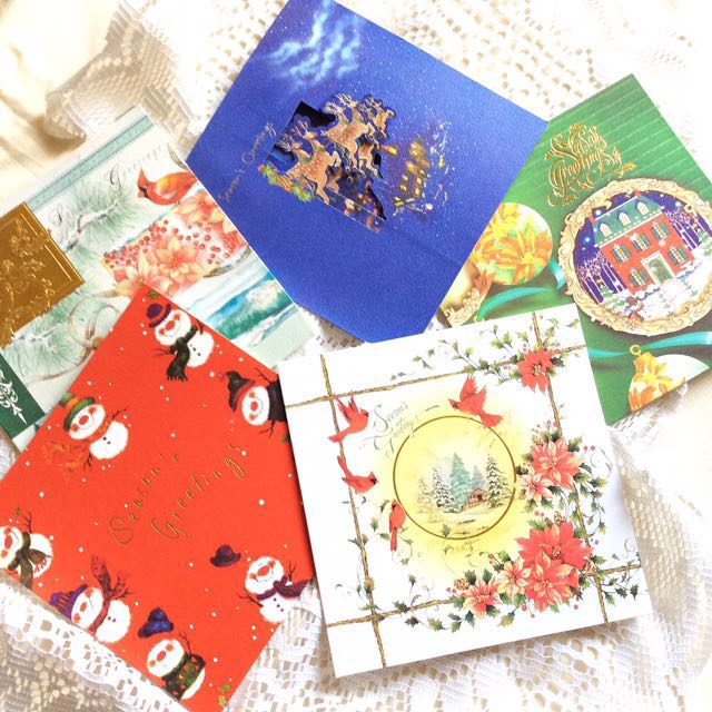 [Pack Of 5] Tidings Of Joy - Pack Of Christmas Cards.
