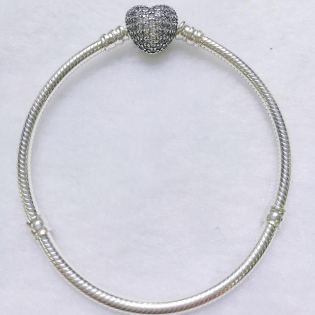 Pandora heart studded bangle